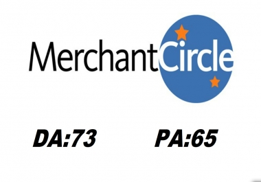 "Write and Publish A Guest Post "" Merchant circle"" DA73 With Backlink"