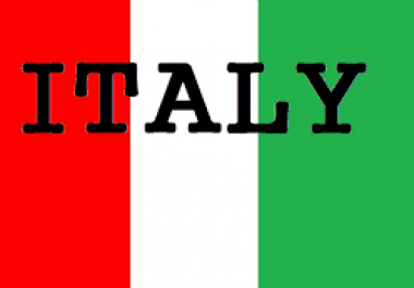 Provide You 1500 Italy Country Targeted Traffic