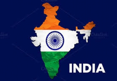 Provide You 1500 India Country Targeted Traffic