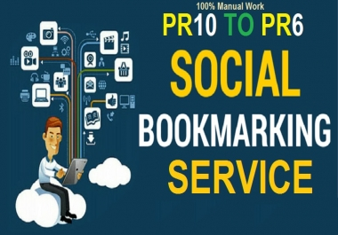 Manually create high quality Bookmarks Social SEO backlinks