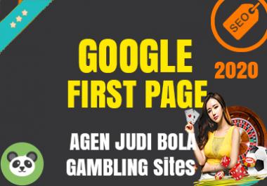 Agen Judi Bola Casino Sites Guaranteed Google First Page