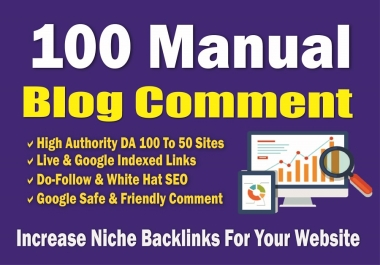 100 PR 6 to 2 BackLinks from SEO Blog Comment for AduIt websites