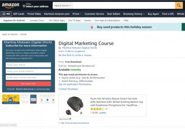 DA 98 Dofollow Authority Backlinks From Amazon Link Building