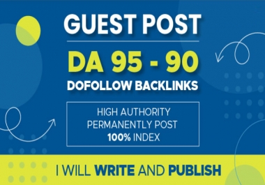 I will publish guest post, high da guest post with content