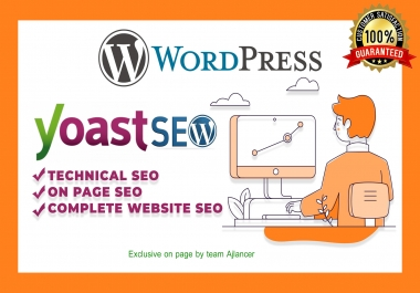 I will do yoast on page SEO with green article readability
