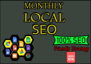 I will rank your website on google first page by monthly seo service