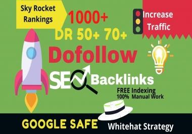 I will make high authority SEO dofollow backlinks link building