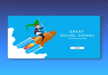 GREAT 26000+ SOCIAL SIGNAL power full link building