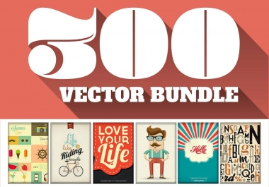 i will give you 300 premium vector files worth 1500 dollars with FULL rights + BONUS