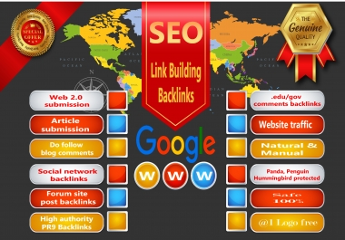 I will do 200 Link Building in High DA sites , Quality Seo Backlinks, Web traffic.
