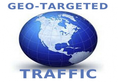 send 1500 organic web traffic from any country GEO target visitors