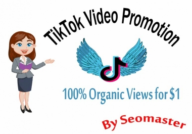 HQ tiktok video promotion Fast Delivery