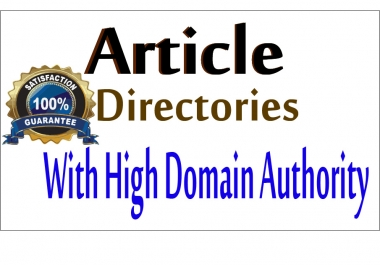 100 Article Directories Backlinks (contextual backlinks)