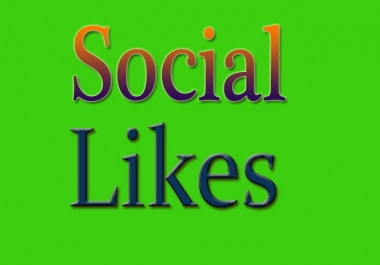 Instant 2000-2200 Social likes High Quality Express Delivery