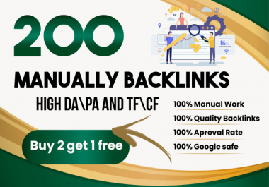 Manually Create 200 do follow BLOG Comments.Improves google ranking