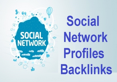 Give 1000+ Social networks profiles backlinks