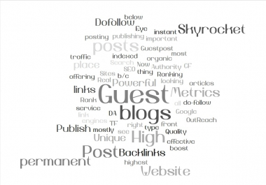Boostup 2021 | Ten SEO Optimised Guest Post on HQ DA PA TF