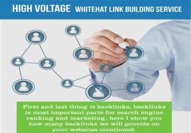 create Manually 40 PR9 - DA-70+ 100% Safe White Hat SEO Backlinks