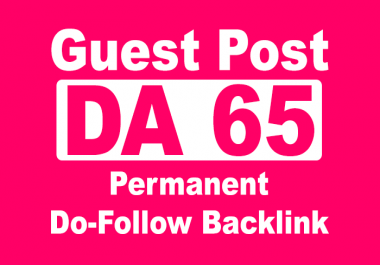 do guest post on my high da 65 personal website