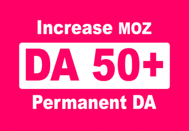 increase domain authority moz DA with high quality backlinks