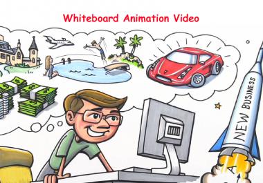 Create Professional Whiteboard Explainer Video