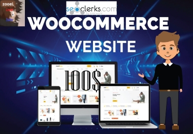 create a professional and responsive WordPress Woocommerce Website or Store