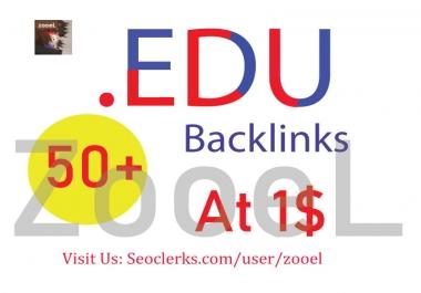 Create 50+ .EDU High DA Backlinks - Top Ranking On Google
