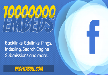 10 Million Facebook Post Embeds