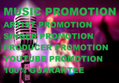 Promote Your Music Youtube and Get 1000 Visitor