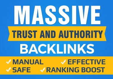 I will manually create 800+ High Authority SEO Backlinks from Top Brands