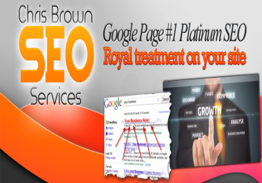 CRUSH Your Competition with our POWERFUL Google SEO Package: Professional White Hat SEO