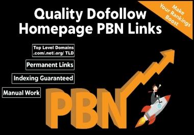 Will build 10 Manual HIGH TF CF DA PA 30+ to 10 Dofollow PBN Backlinks + Google SEO