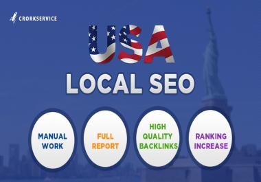 USA Local SEO - high quality backlinks to get rankings