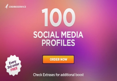 100 authority backlinks from trust profiles up to DA80