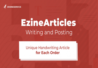 Ezinearticles Writing and Posting - Only Unique Content