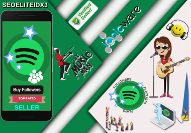 Fast On Time Delivery 1,500 Playlist Or Artist Accounts Profile Followers