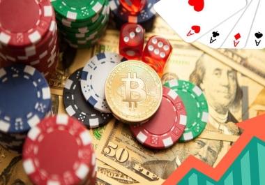 1 Million+ Google Analytics Casino Gambling Website Social Media Traffic First 1st Page On Google