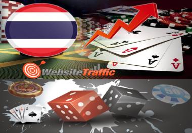One Million+ Google Analytics Casino Gambling Website Social Media Traffic First 1st Page On Google