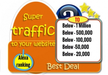 Boost Alexa Rank your site NOW
