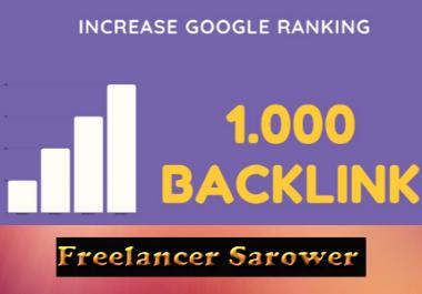 High PR 1000+ Forum & Social backlinks