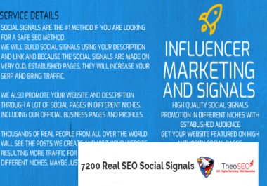 7200 Real Social Signals - Traffic, Shoutouts and Promotion Included - Order This Daily