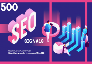 500 SEO Social Signals on Top Social Networks with Indexing and Checker Report