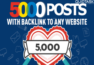 5000 High Quality PBN Backlinks - Blog and Directory Posts