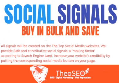 3000 ORGANIC SOCIAL SIGNALS AND 10 SHOUTOUTS TO 250,000 PEOPLE ON SOCIAL NETWORKS
