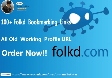 100 folkd bookmarking backlinks