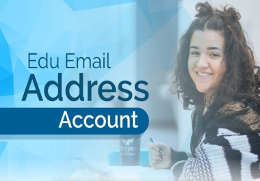 Give You Fast Edu Email Account From USA Colleges To Get Discounts On Authority Sites