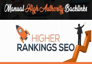 Skyrocket Your Website on Google by Manual High Authority Dofollow SEO Backlinks