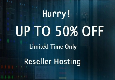 1 Year Reseller Hosting NVMe SSD Boosted 250GB Storage Free SSL Blackfriday