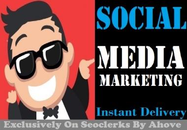 Start Instant Social Media Marketing