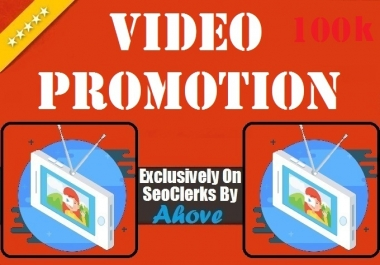 Get Video Promotion To Your Video Offer5